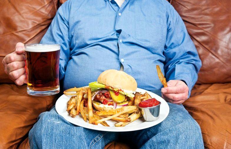 Алкоголь и лишний вес доказано, что люди, которые злоупотребляют