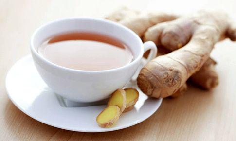 Чай с имбирем для похудения нарезаем тонкими