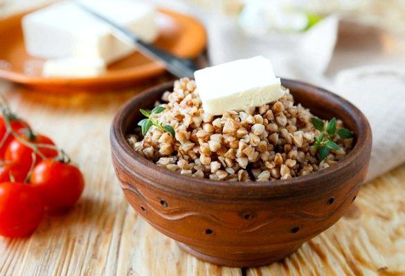 Диета на кашах сокращаем количество жиров до