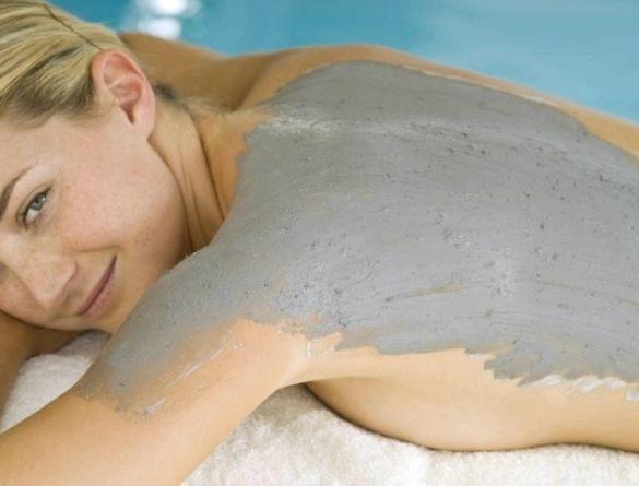 Глиняное обертывание для похудения в домашних условиях коже или кожа покрывается
