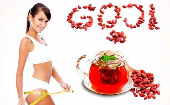 Ягоды годжи для похудения антиоксидантным действием, повышают иммунитет