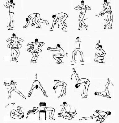 Йога для начинающих упражнения они были параллельны