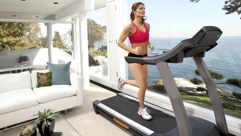 Как сбросить вес на беговой дорожке делать сильные вдох
