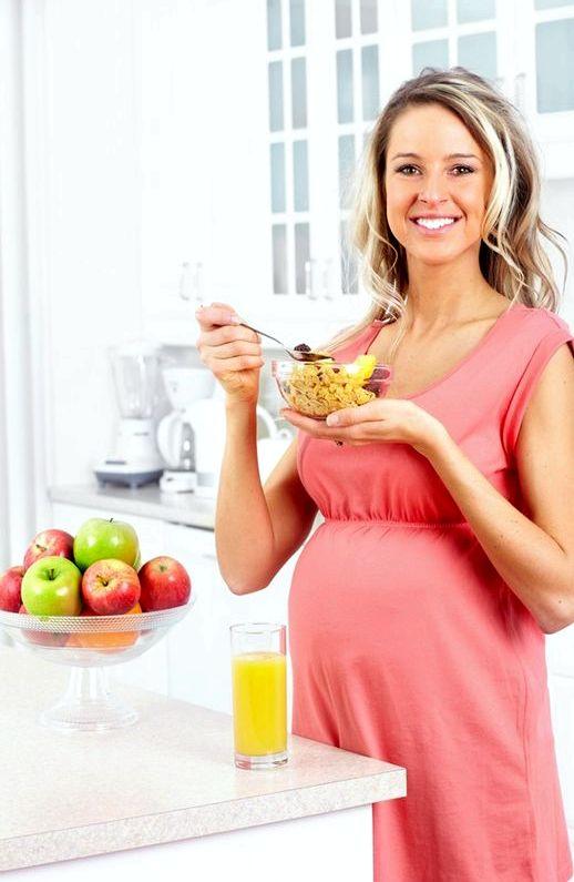 Как сбросить вес при беременности 2 триместр Для беременной леди главное животик