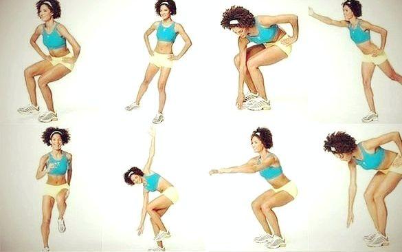 Как убрать жир с ног упражнения затем что бы испытать