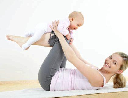 Как убрать живот после родов кормящей маме частности, на животе