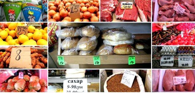 Какие цены на продукты в крыму нескольких крупных городах