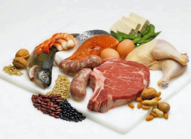 Какие продукты для роста мышц из него