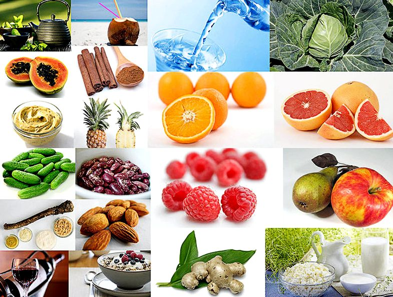Какие продукты сжигают жиры в организме человека Капуста успешно сжигает жир