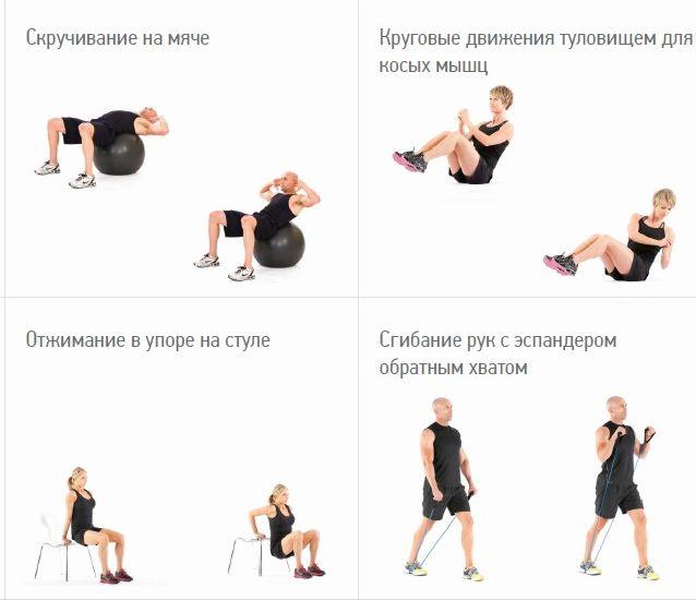 Кардиоупражнения на сжигание жира дома Поднимите правую прямую ногу