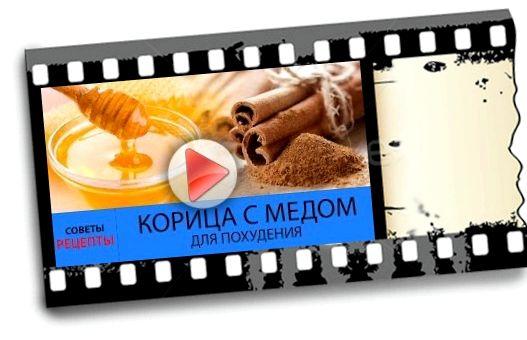 Корица с медом для похудения веса прекратиться