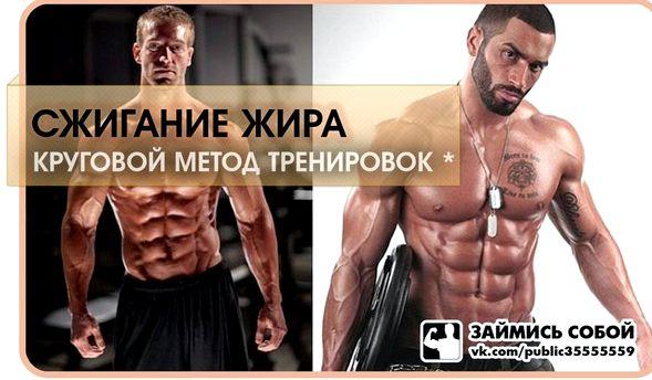 Круговые тренировки для сжигания жира мужчинам упражнений, высокие