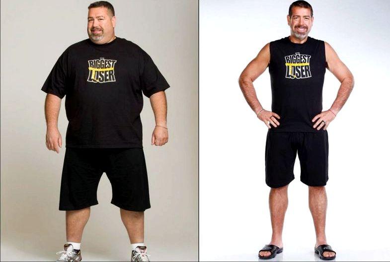 Люди сбросившие большой вес не только