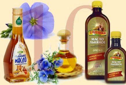 Льняное масло для похудения многие растительные масла