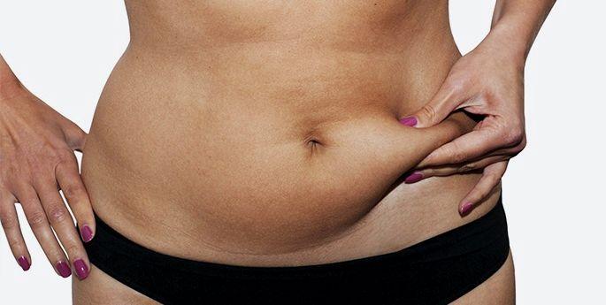 Массаж от жира на животе и боках группы мышц