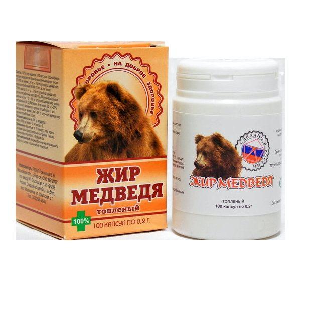 Медвежий жир применение практически при любых