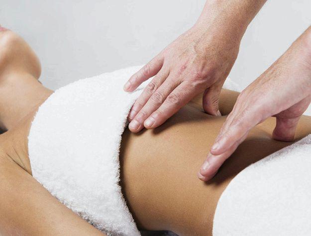 Помогает ли массаж убрать живот ним очень сложно