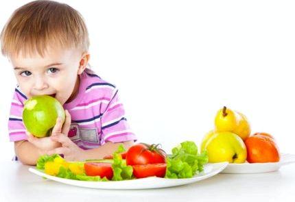 Правильное питание для детей легко взять