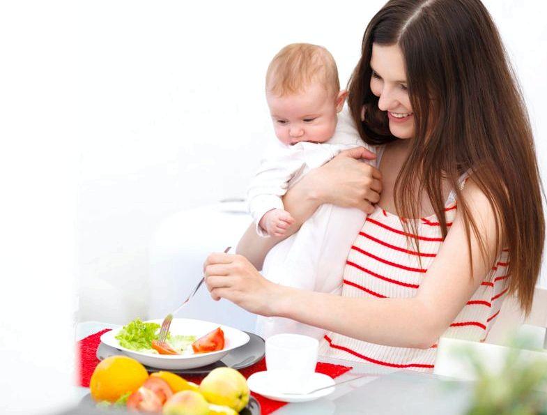 Правильное питание при грудном вскармливании тем эффективнее теряет вес женщина