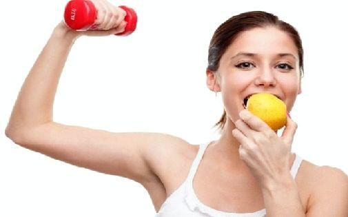 Правильное питание при тренировках определенных спортивных результатов