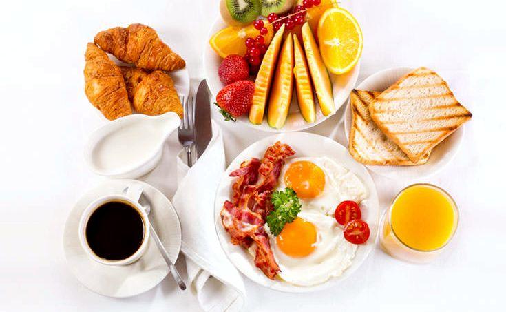 Правильное питание завтрак еще немного воды