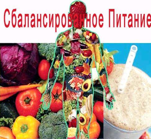 Правильное сбалансированное питание для снижения веса меню меню сбалансированного питания для похудения