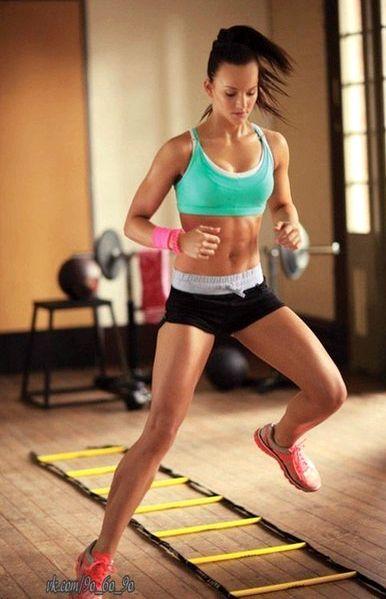 Прыжки для похудения Слово skip