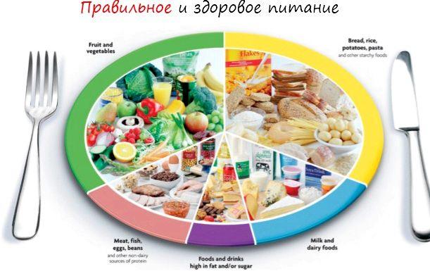Рацион здорового питания Произвела адекватные замены