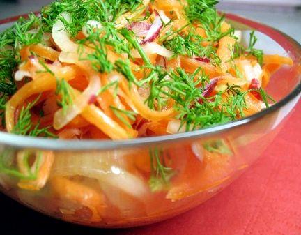 Салат для похудения рецепты все овощи