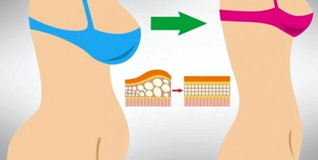 Как убрать жир с живота у девушек в домашних условиях