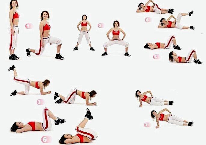 Упражнения чтоб убрать ляшки массаж дважды