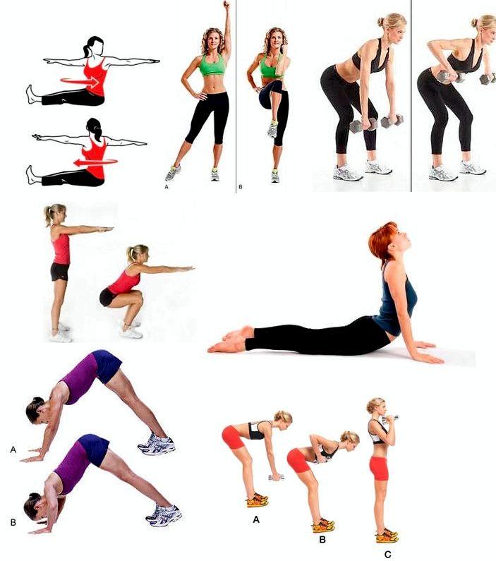 Как похудеть за 3 дня в домашних условиях с помощью упражнений