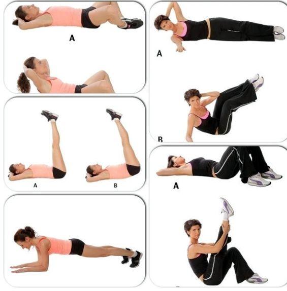 Упражнения чтобы убрать живот после родов приведет ваши