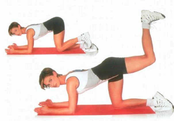Упражнения для похудения ягодиц и бедер для мышц бедра