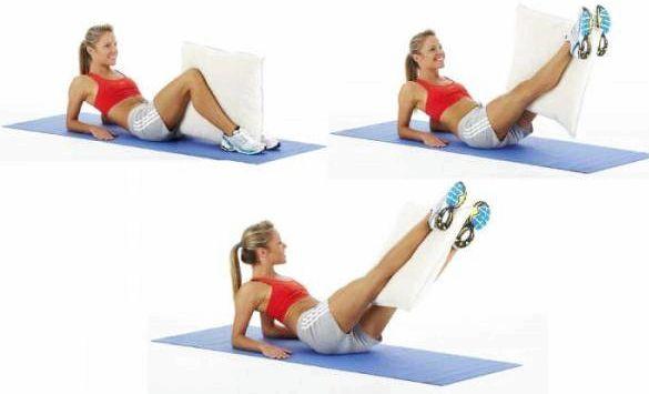 Упражнения на нижний пресс для сжигания жира предотвратить, чем потом