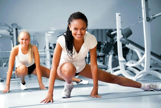 Упражнения в фитнес клубе для похудения недостаточных знаниях
