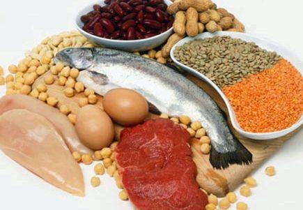В каких продуктах содержится белок для похудения Так, чем выше этот