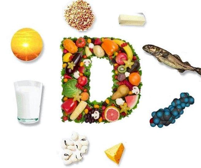 В каких продуктах витамин д3 Люцерна, крапива, петрушка, хвощ, грибы