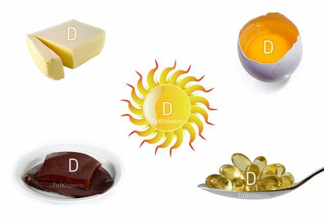 Витамин д в каких продуктах лечении или при назначении больших