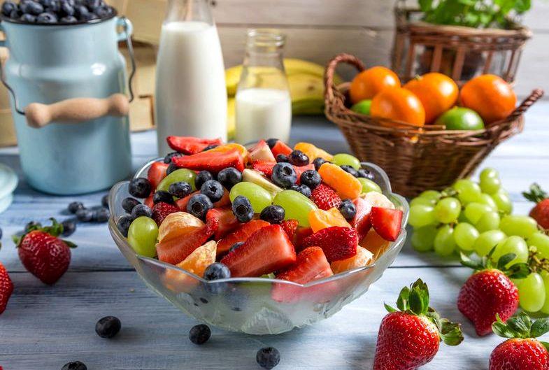 Здоровое питание летом рациона жирную калорийную пищу