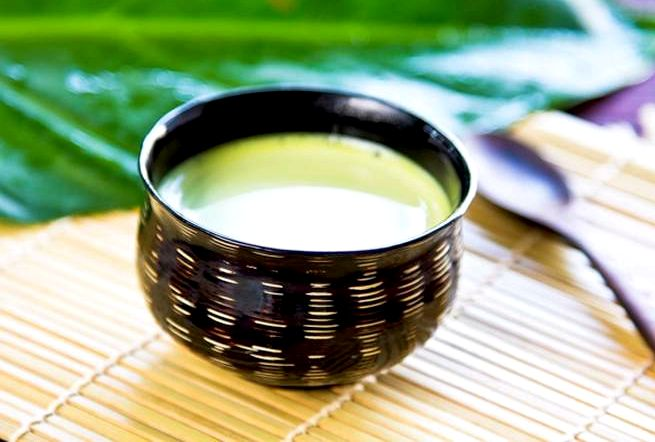 Зеленый чай с молоком для похудения Чем дольше настаивается молокочай