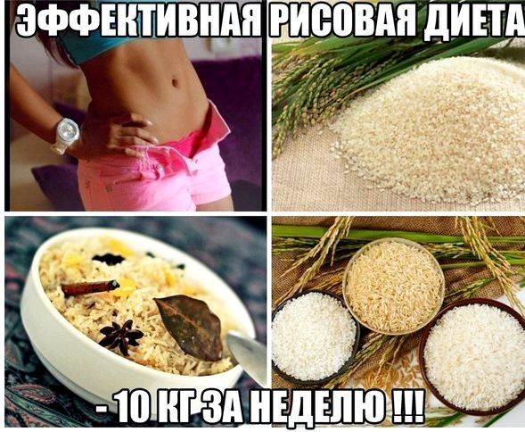 Самая Эффективная Рисовая Диета Для Похудения.