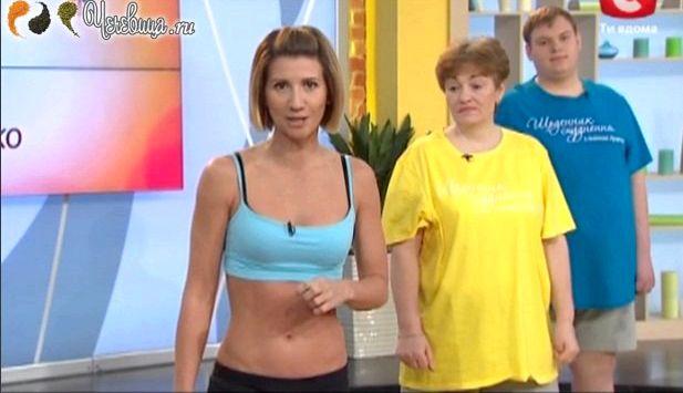 Анита луценко как убрать живот После тренировки израсходуются ваши