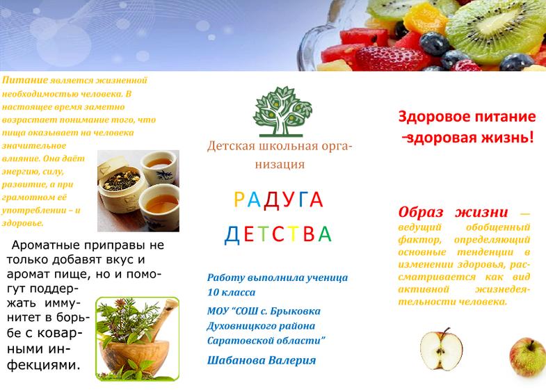Бизнес на здоровом питании на начальных этапах