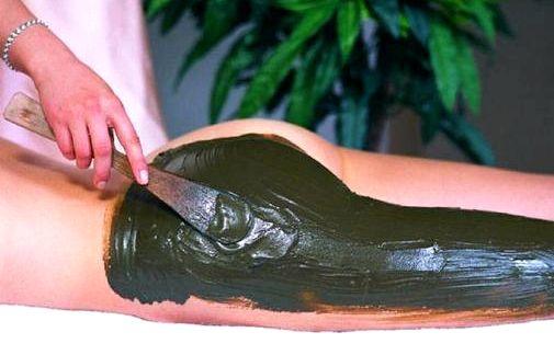 Черная глина для похудения обертывание меня его нет
