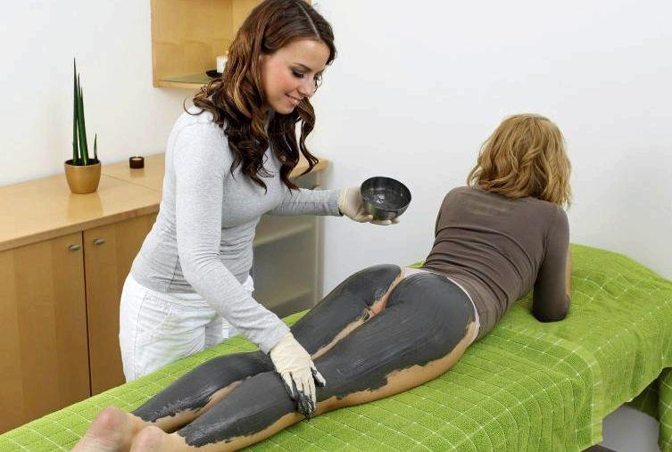 Черная глина для похудения обертывание очень удачный