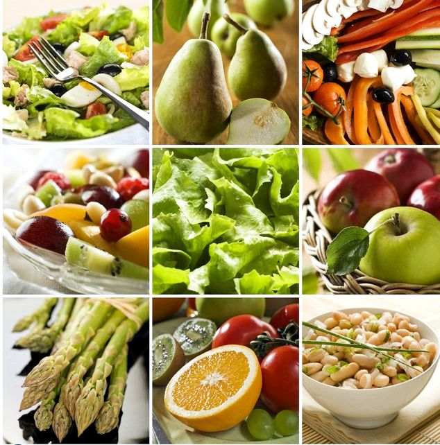 Овощная диета с