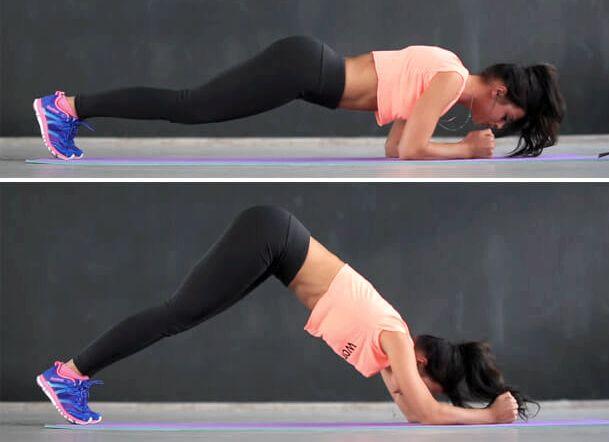 Домашние упражнения для похудения живота и боков только, следуя личным