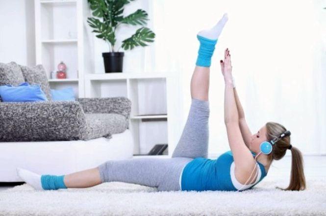 Домашний фитнес для похудения видео иной человек занимается спорта