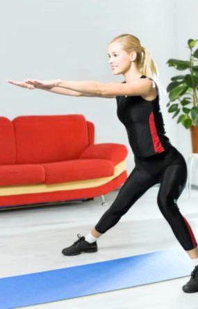 Фитнес для похудения в домашних условиях Далее, вращаем кисти рук